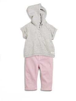 7 For All Mankind - Infant's Two-Piece Hoodie & Belladonna Skinny Jeans Set