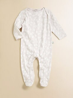Stella McCartney Kids - Infant's Rufus Dove Print Footie