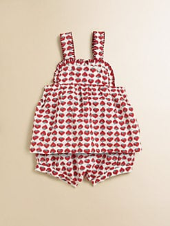 Stella McCartney Kids - Infant's Olivia Two-Piece Strawberry Jumper & Bloomers Set