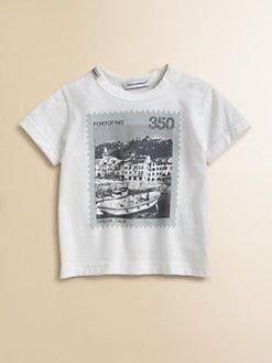 Dolce & Gabbana - Infant's Italy Stamp Tee