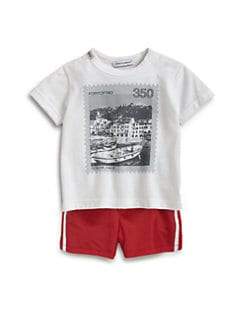 Dolce & Gabbana - Infant's Reversible Swim Trunks