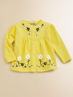 Hartstrings - Infant's Pointelle Cardigan