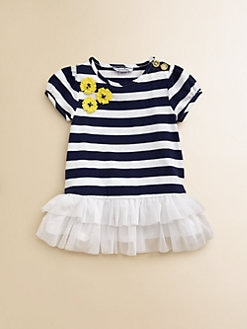 Hartstrings - Infant's Striped Flounce Tunic