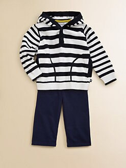Hartstrings - Infant's Striped Pullover Hoodie