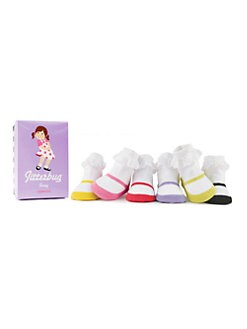 Trumpette - Infant's (12-24mo) Jitterbug Jenny Sock Set