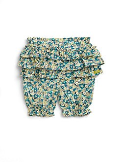 Lili Gaufrette - Infant's Floral Ruffled Pants