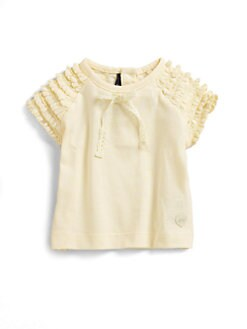 Lili Gaufrette - Infant's Macram&#233; Jersey Tee