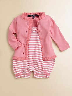 Lili Gaufrette - Infant's Ruffled Cardigan