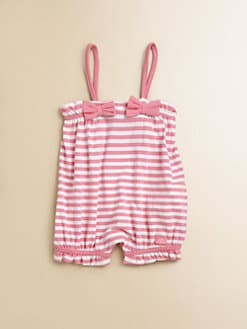 Lili Gaufrette - Infant's Striped Bubble Jumpsuit