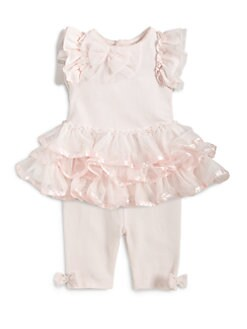 Miniclasix - Infant's Two-Piece Tutu Top & Leggings Set