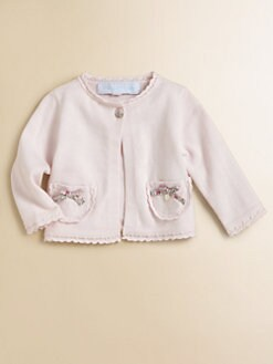 Tartine et Chocolat - Infant's Scalloped-Edged Cardigan