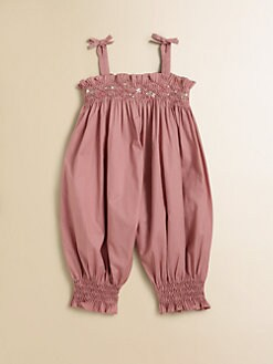 Tartine et Chocolat - Infant's Smocked Coverall