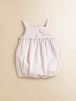 Tartine et Chocolat - Infant's Eyelet Romper