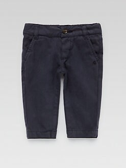 Gucci - Infant's Cotton Gabardine Pants