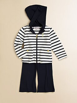Juicy Couture - Infant's Two-Piece Jogger Hoodie & Pants Set