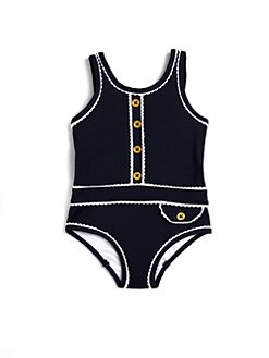 Juicy Couture - Infant's One-Piece Denim Swimsuit