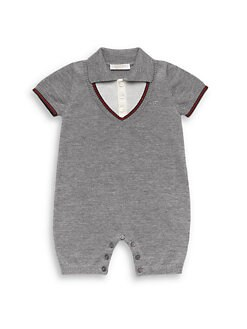 Gucci - Infant's Merino Wool Sleepsuit