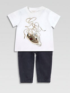 Gucci - Infant's Gucci Sneakers Tee