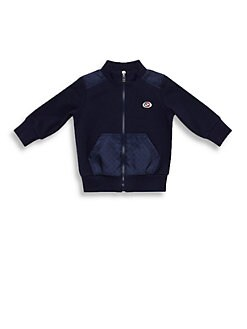 Gucci - Infant's Zip-Front GG Sweatshirt