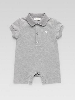 Gucci - Infant's Polo Sleepsuit