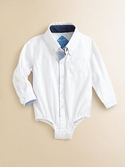 Andy & Evan - Infant's Woven Solid Bodysuit