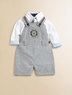 Andy & Evan - Infant's Reversible Shortalls