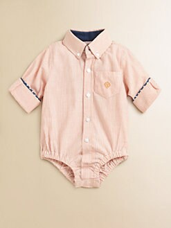 Andy & Evan - Infant's Woven Striped Bodysuit