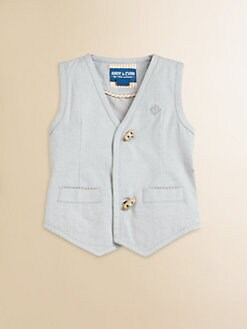 Andy & Evan - Infant's Oxford Cloth Vest