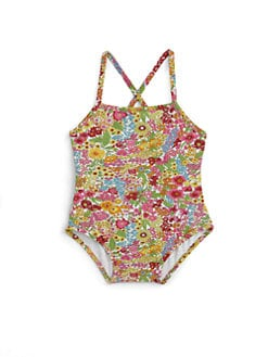 Oscar de la Renta - Infant's Floral One-Piece Swimsuit