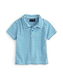 Oscar de la Renta - Infant's Striped Cotton Polo Shirt