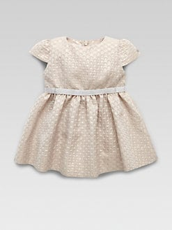 Gucci - Infant's Stars Jacquard Dress