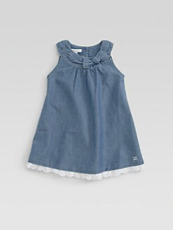Gucci - Infant's Chambray Dress