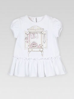 Gucci - Infant's Ruffled Closet Dress