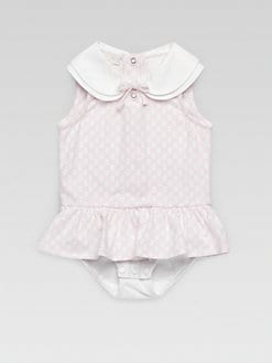 Gucci - Infant's Mini GG Bodysuit