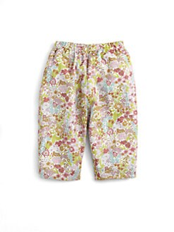 Oscar de la Renta - Infant's Floral  Pull-On Pants