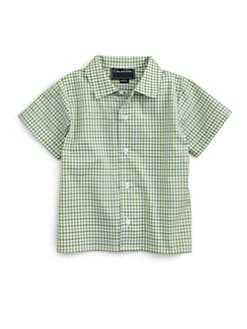 Oscar de la Renta - Infant's Checked Shirt