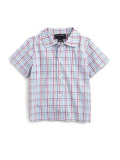 Oscar de la Renta - Infant's Check Short-Sleeve Shirt