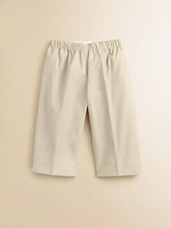 Oscar de la Renta - Infant's Solid Pull-On Pants/Beige