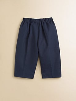 Oscar de la Renta - Infant's Solid Pull-On Pants/Navy