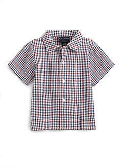 Oscar de la Renta - Infant's Checked Woven Shirt