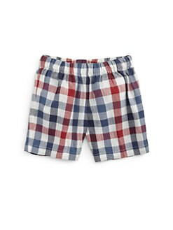 Oscar de la Renta - Infant's Checked Shorts