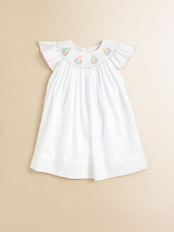 Anavini - Infant's Pretty Sailboats Dress
