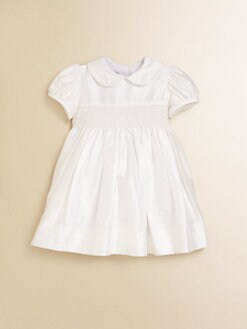 Anavini - Infant's Annabelle Silk Dress