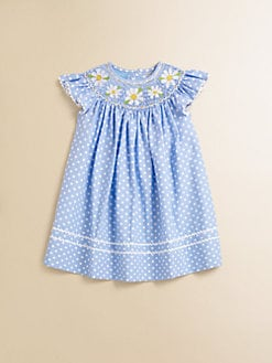 Anavini - Infant's Daisies Angel Dress