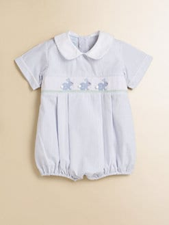 Anavini - Infant's Bunny Bubble Shortall