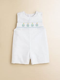 Anavini - Infant's Pretty Sailboats Shortall