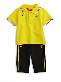 PUMA Ferrari - Infant's Polo and Pants Set