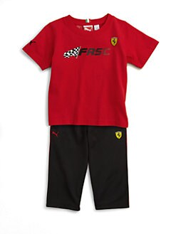 PUMA Ferrari - Infant's Tee and Pants Set