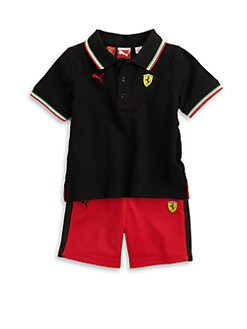 PUMA Ferrari - Infant's Polo and Shorts Set