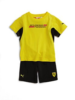 PUMA Ferrari - Infant's Tee and Shorts Set